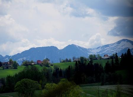 tatra: the Tatra Mountains Stock Photo