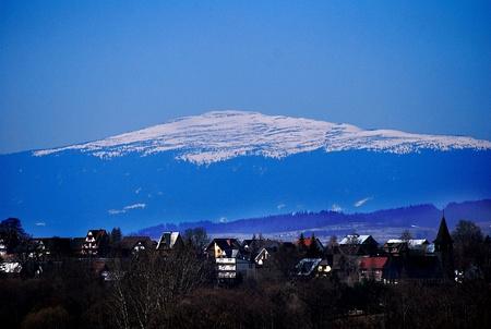 view of the Babia Gora