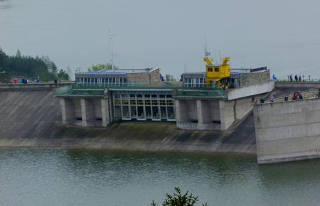 flood Czorsztyn Stock Photo