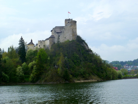 castle in Niedzica Editorial