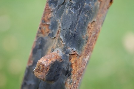 rusted: Rusted Sign