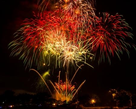 whizz: Competition international fireworks in Thailand