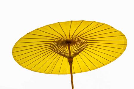 einrollen: Schirm verwendet, um Sonne zu sch�tzen
