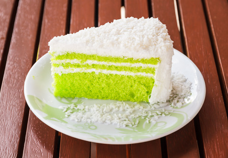fragrant: Fragrant and yummy cake. Stock Photo