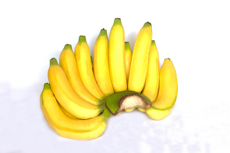 Banana is the popular fruit  all over the world. Stock Photo
