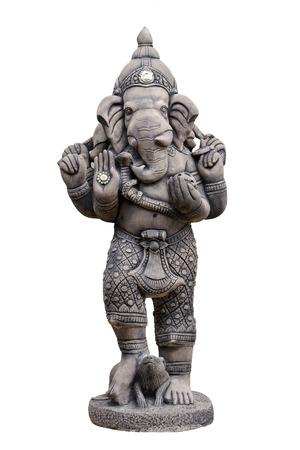 rata: Una deidad con cabeza de elefante, hijo de Shiva y Parvati. Adorado como el removedor de obstáculos y patrón del aprendizaje, que por lo general se representa de color rojo, con una barriga y un colmillo roto, que monta una rata.