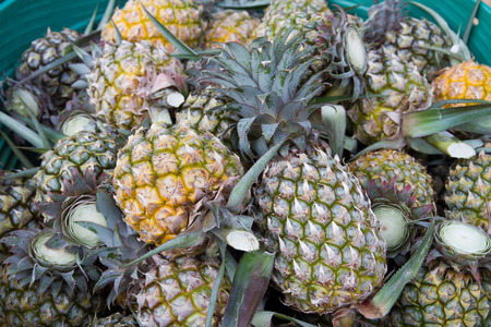 healthful: Pineapple flavored tropical fruit, tasty and healthful.