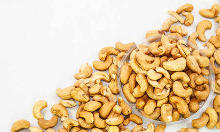 human beings: Cashew nuts are food and herb that which benefit for human beings.