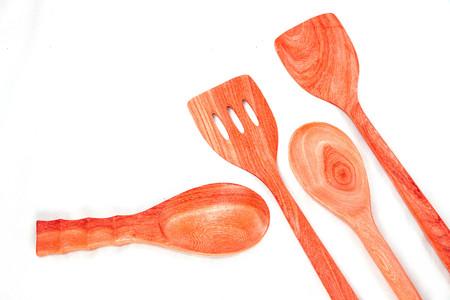 utensilios de cocina: utensilios de cocina cucharón de madera son hermosas y duraderas.