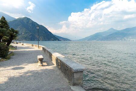 Beautiful italian landscape on Lake Como