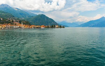 Beautiful landscape on the lake Como Italy Banque d'images - 129531633