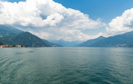 Beautiful view of Lake Como Italy