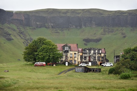rundown: Old and somewhat run-down farm in the middle of nowhere in the south if Iceland. Icelandic Hillbillies area ...