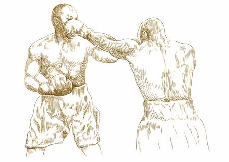 pugilism: boxing match