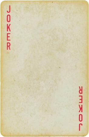 предмет коллекционирования: джокер Иллюстрация