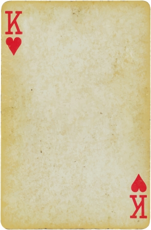 jeu de carte: roi des coeurs