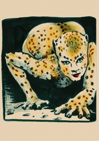 a literary sketch: leopard lady
