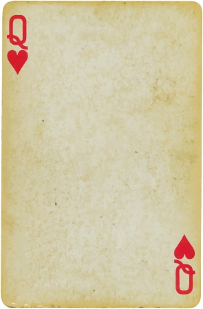 playing games: queen of hearts Illustration