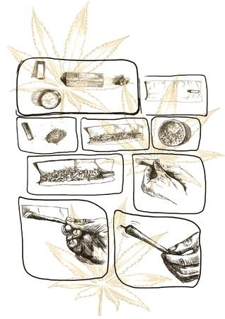 hashish: as packaged marijuana joint, storyboard 4
