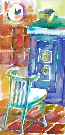 archaically: painting - at home