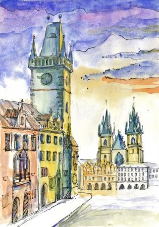 archaically: painting - Prague