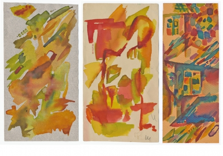 archaically: hand drawing - three times abstraction