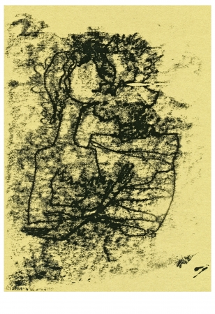 archaically: hand drawing - human figures