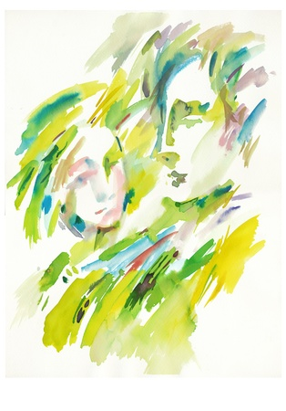 archaically: water colors - lovers