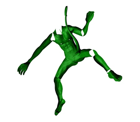 green skin  monster  photo
