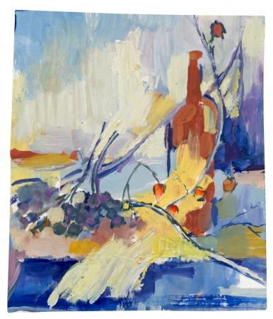tempera: still life - tempera painting