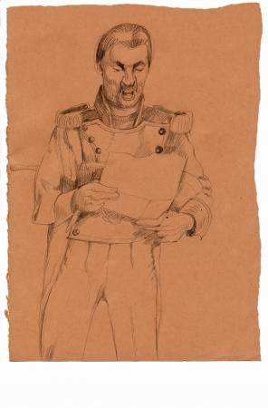 dictator: dictator, drawing