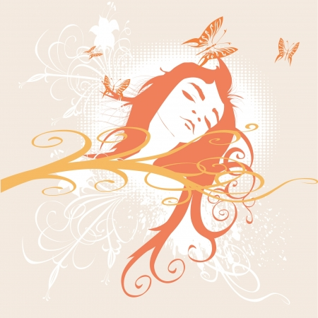 sleeping beauty Vector