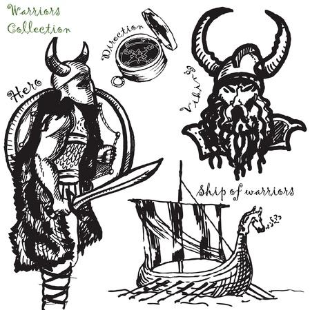 vikings: guerriers