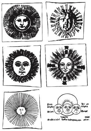 archaically: the suns