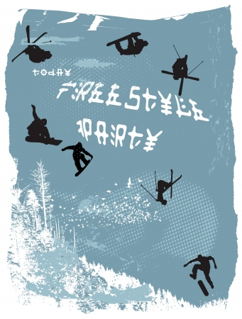 freestyle party Vector