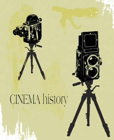 cinema history Vector