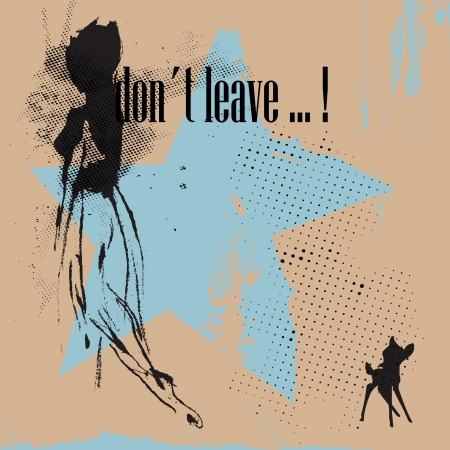 sad lonely girl: leave
