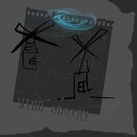 windmill Stock Vector - 15621790