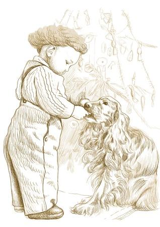 yuletide: christmas, yuletide  this is original drawing