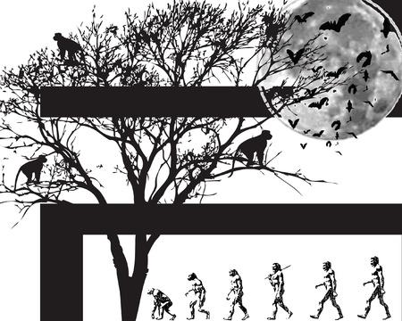 new day: New Grunge immagine giorno con gli uomini e le scimmie