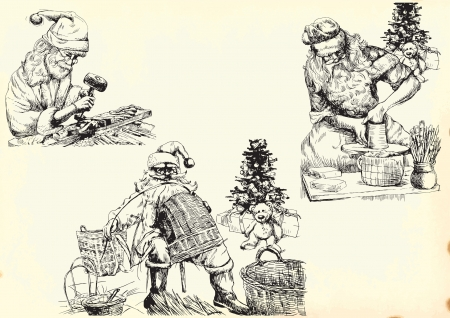 joinery: Santa Claus collection 1 Illustration