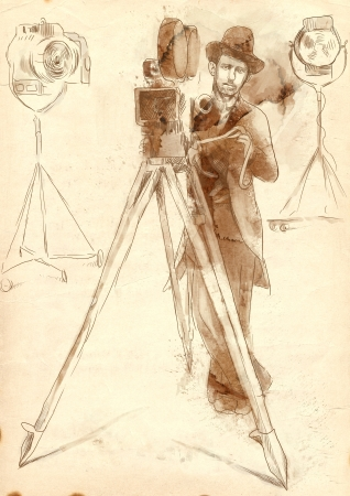 film history: The film history  The man behind the camera