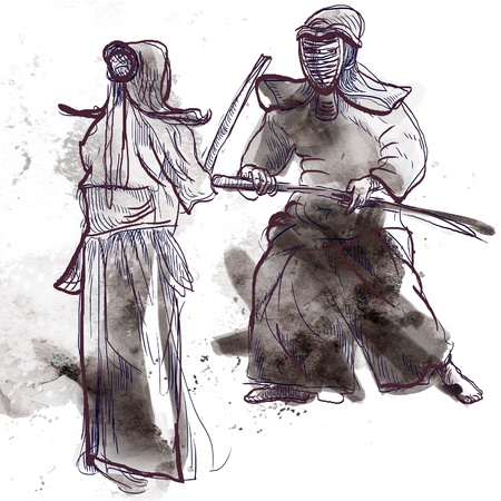 martial ways: Budo, Japanese martial art