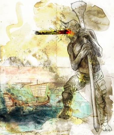 homer: Greek myths and Legends - Cyclops