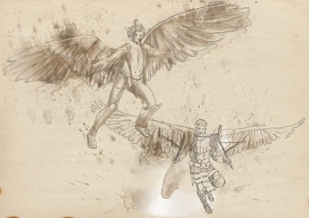 icarus: Greek myths and Legends - Icarus and Daedalos
