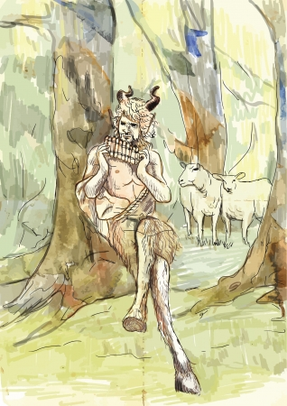 Pan - Is the god of the wild, shepherds and flocks, nature of mountain wilds, hunting and rustic music