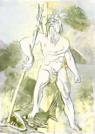 pantheon: Poseidon - Is one of the twelve Olympian deities of the pantheon