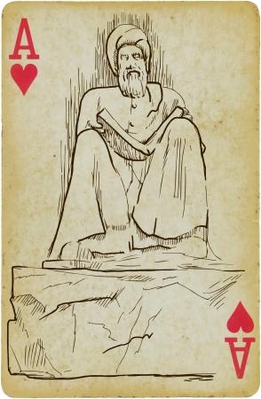 philosopher: Philosopher and writer Illustration