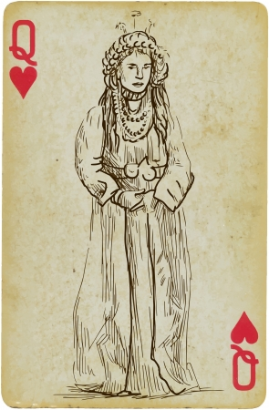 mesopotamian: Princess  or simply Mesopotamian beauty  Illustration