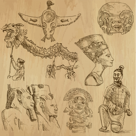Native and Old Art around the World - 6